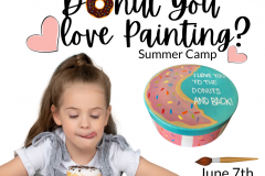 June 7 - Donut you Love Painting