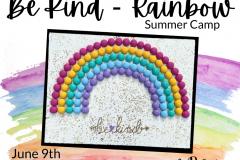 June 9 - Be Kind - Rainbow