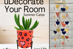 June 17th -  uDecorate Your Room