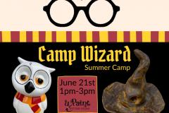 June 21 - Camp Wizard