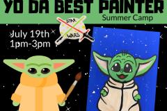 July 19 - Yo Da Best Painter