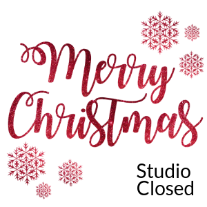 Christmas Day CLOSED @ All uPaint Locations
