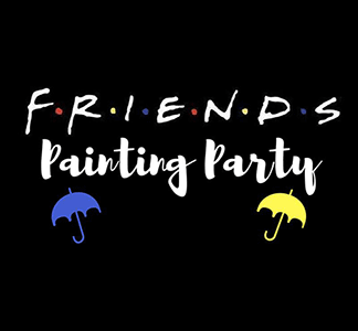 FRIENDS Painting Party @ uPaint Pottery Studio, All Locations