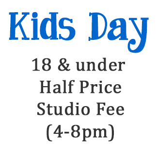 Kids Day @ uPaint Pottery Studio, All Locations