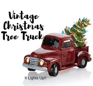 Vintage Christmas Tree Truck Party @ uPaint Pottery Studio, All Locations