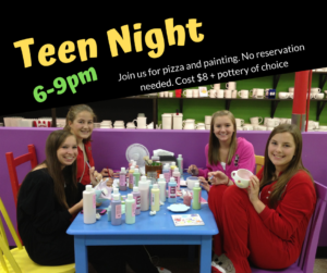 Teen Night @ All uPaint Locations