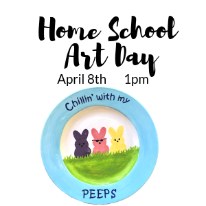 Home School Art Day @ A uPaint locations