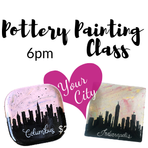 Pottery Painting Class @ All uPaint Locations
