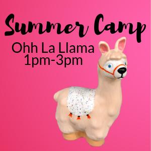 Summer Camp Ooh La Llama @ All uPaint Locations