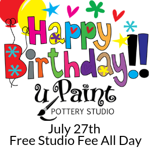 Happy Birthday uPaint @ All uPaint Locations