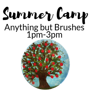 Summer Camp Anything but Brushes @ All uPaint Locations