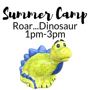 Summer Camp Roar Dinosaur @ All uPaint Locations