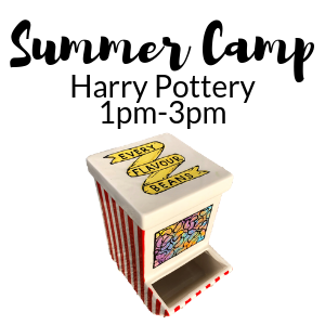 Summer Camp Harry Pottery @ All uPaint Locations