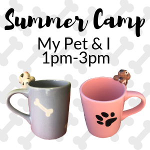 Summer Camp My Pet and I @ All uPaint Locations