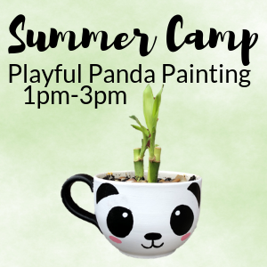 Summer Camp Playful Panda Painting @ All uPaint Locations