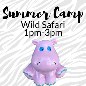 Summer Camp Wild Safari @ All uPaint Locations