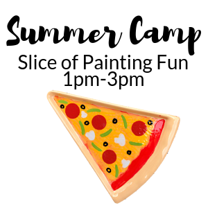 Summer Camp Slice of Painting Fun @ All uPaint Locations