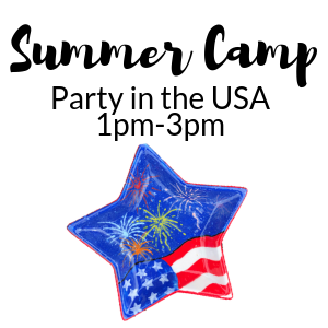 Summer Camp Party in the USA @ All uPaint Locations