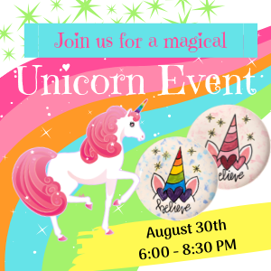 Magical Unicorn Painting Party @ All uPaint Locations