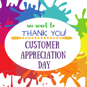 Customer Appreciation Day @ All uPaint Locations