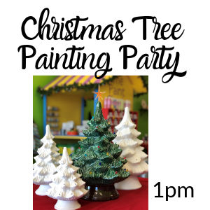 Christmas Tree Painting Party @ All uPaint Locations
