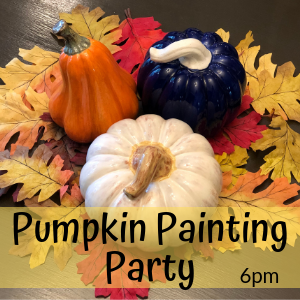 Pumpkin Painting Party @ All uPaint Locations
