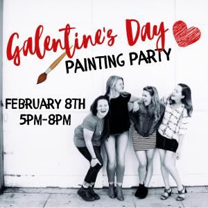 Galentines Day Painting Party @ All uPaint Locations