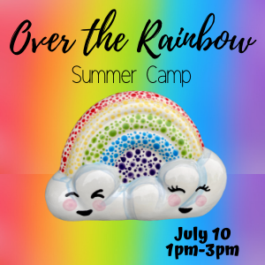 Over the Rainbow Summer Camp @ All uPaint Locations