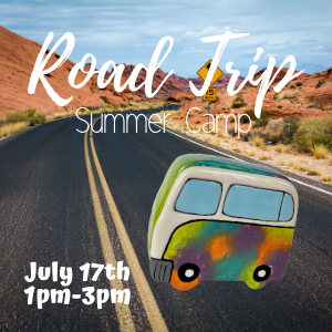 Road Trip Summer Camp @ All uPaint Locations