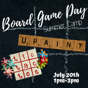 Board Game Day Summer Camp @ All uPaint Locations