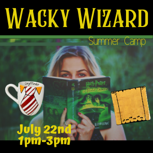 Wacky Wizard Summer Camp @ All uPaint Locations