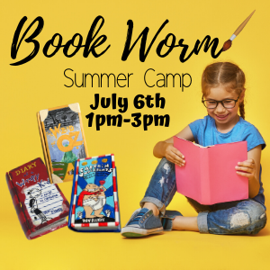 Book Worm Summer Camp @ All uPaint Locations