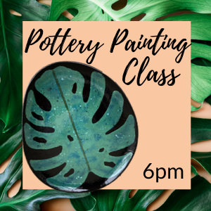 Pottery Painting Class - July @ All uPaint Locations