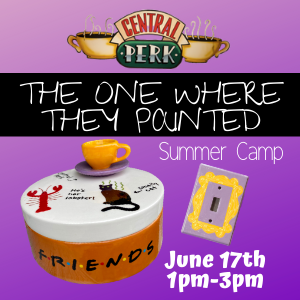 The One Where They Painted Summer Camp @ All uPaint Locations