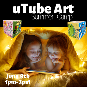 uTube Art Summer Camp @ All uPaint Locations