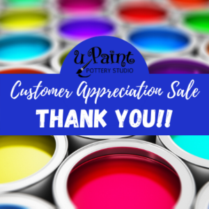 Customer Appreciation Sale @ All uPaint Locations