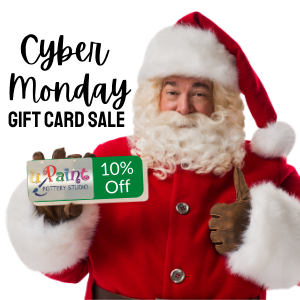 Cyber Monday Gift Card Sale @ All uPaint Locations