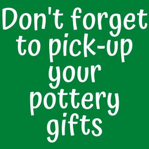 Pick-up Pottery