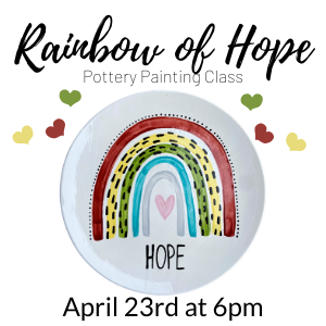 Rainbow of Hope Painting Class @ All uPaint Locations