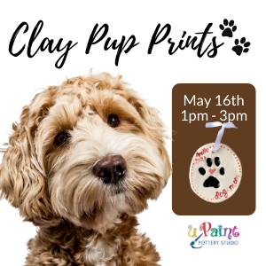 Clay Pup Prints @ All uPaint Locations