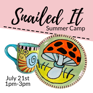 Snailed It Summer Camp @ All uPaint Locations