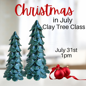 Christmas Clay Tree @ All uPaint Locations