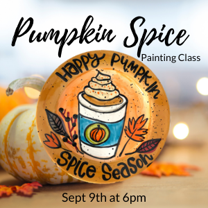 Pumpkin Spice Pottery Painting Class @ All uPaint Locations