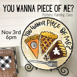 You Wanna Piece of Me Painting Class @ All uPaint Locations