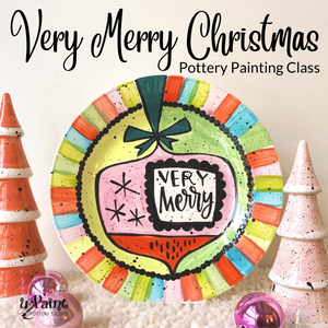 Very Merry Christmas Painting Class @ All uPaint Locations